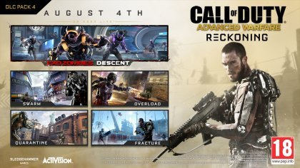 Новые подробности DLC «Reckoning» для Call of Duty: Advanced Warfare
