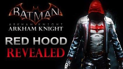 Первое видео игрового процесса за «Красного колпака» из игры Batman: Arkham Knight
