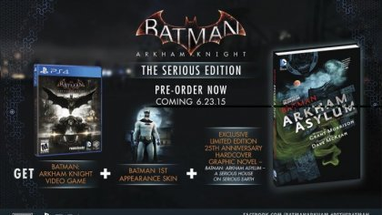 Rocksteady Studios анонсировали Serious Edition для Batman: Arkham Knight