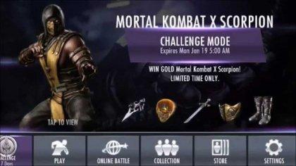 Анонс мобильной версии Mortal Kombat X