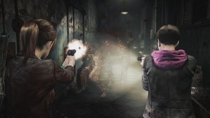 Кооператив для Resident Evil: Revelations 2