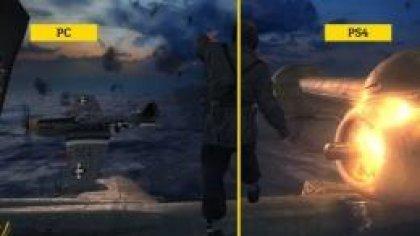 Сравнение графики Wolfenstein: The New Order