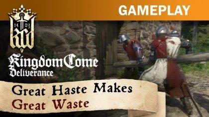 Новый геймплей Kingdom Come: Deliverance посвящён вариативности прохождения