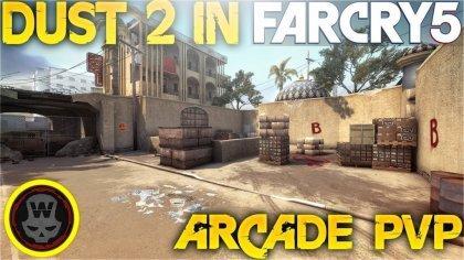 В Far Cry 5 появилась знаменитая карта «de_dust2» из Counter-Strike