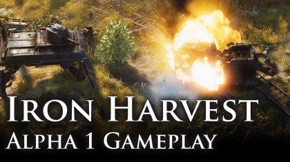 Новая демонстрация игрового процесса Iron Harvest