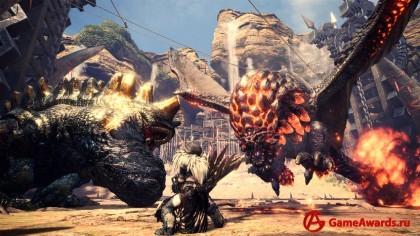 Приключения ведьмацкого дуэта во вселенной Monster Hunter: World
