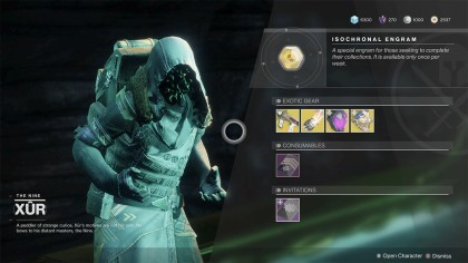 Где Xur сегодня? Destiny 2 Экзотическое оружие, расположение брони и предметы (2-6 августа)