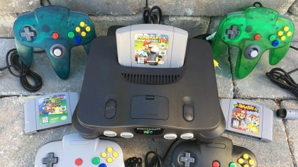 Фанат собрал огнедышащий корпус для Nintendo 64 (видео)
