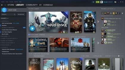 Valve готовят редизайн библиотеки Steam