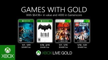 Бесплатные игры для обладателей Xbox Live Gold в январе 2020