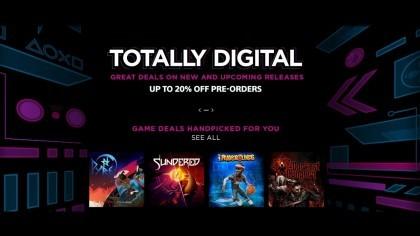 Totally Digital начали распродажу около 200 игр для PS4