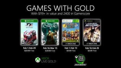Объявлены игры для Xbox Gold на февраль 2020 года