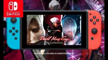 На Switch скоро выйдет обновленная Devil May Cry 3