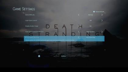 Патч для Death Stranding позволяет отключить раздражающую функцию