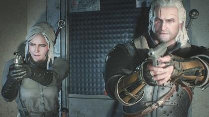 Вышел мод, добавляющий Ведьмака в игру Resident Evil 2