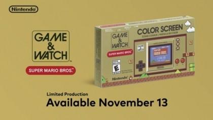 Специальное юбилейное издание Game & Watch выйдет в ноябре этого года