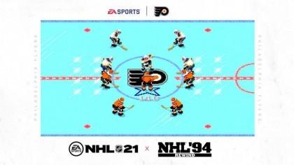 Предзаказ на NHL 21 даст возможность поиграть с графикой NHL 94