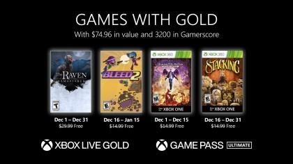 Стали известны бесплатные игры Xbox Live Gold и Game Pass Ultimate на декабрь 2020
