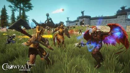 Онлайн игра Crowfall выйдет 6 июля