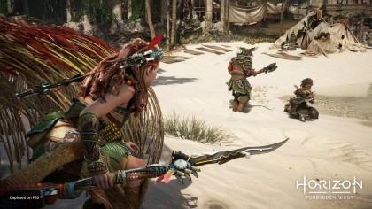 Разработчик Horizon: Forbidden West  рассказал о различиях версии игры для PS4 и PS5