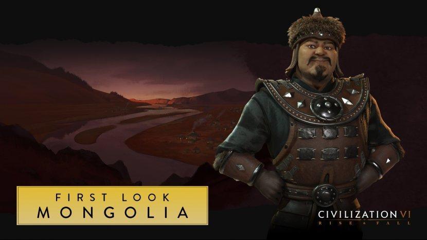 В Civilization 6: Rise and Fall появится Монголия, возглавляемая Чингисханом