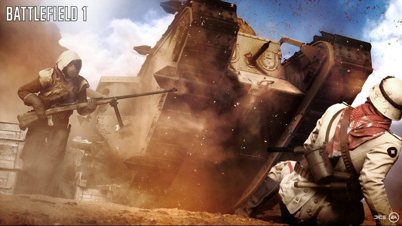 «Gamescom 2016»: Новый трейлер Battlefield 1 с бронепоездом и дата открытого бета-теста