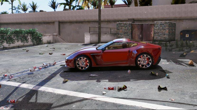Демонстрация реалистичной графики GTA V Redux в новом видеоролике
