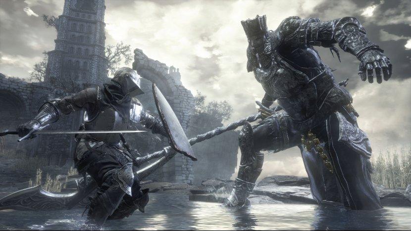 Один из Боссов в Dark Souls 3 был убит голыми руками
