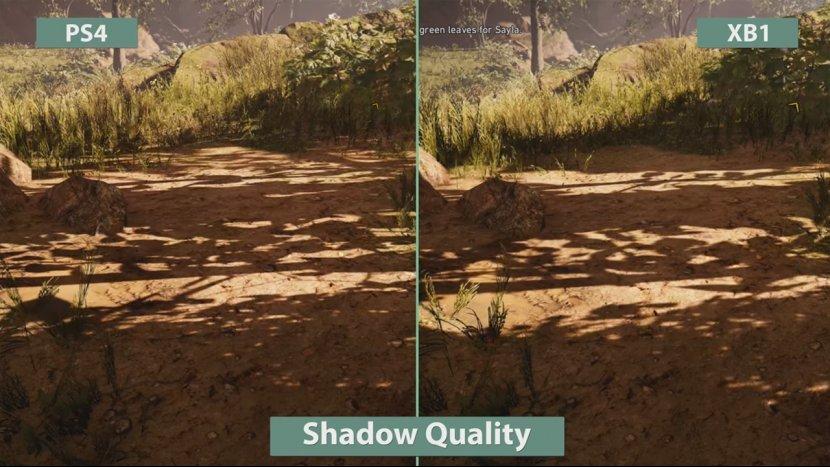 Сравнение качества графики Far Cry: Primal на Xbox One и PlayStation 4
