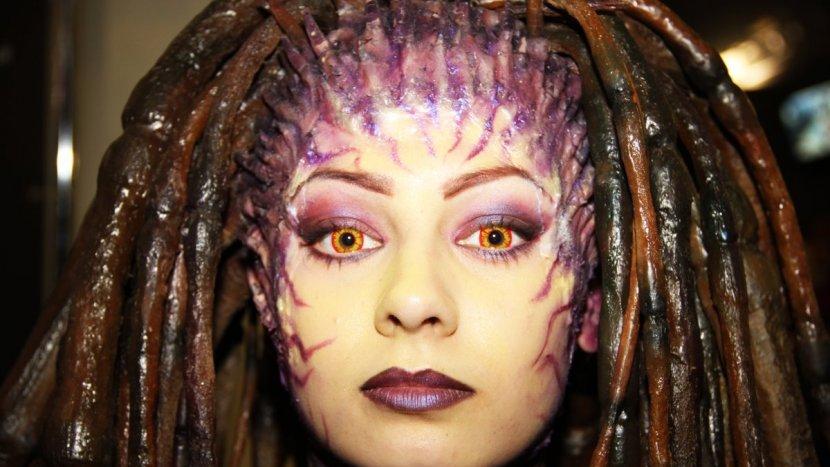 Самая красивая «Королева Клинков» из серии игр StarCraft посетила ИгроМир 2015