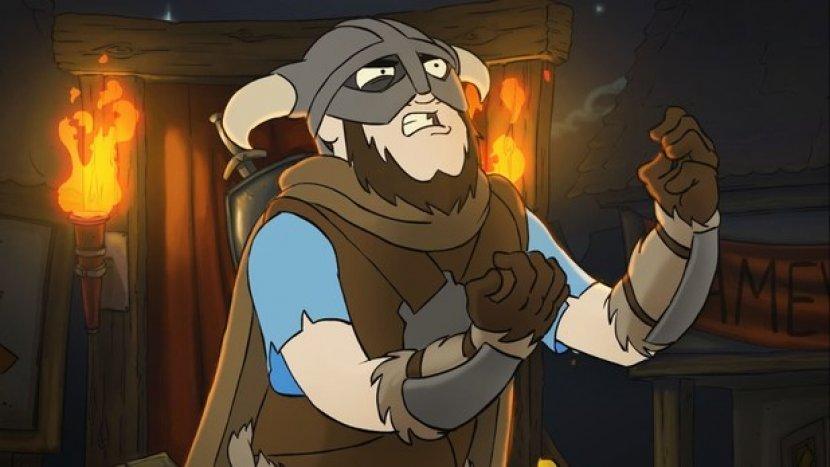 The Elder Scrolls 5: Skyrim благодаря моду «Toon Skyrim» преобразился в мультфильм