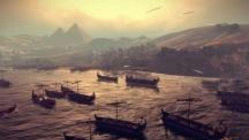 Морской бой в Total War: Rome II