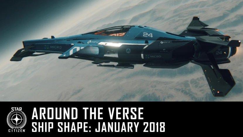 Процесс создания космических кораблей Star Citizen в новом видеоролике