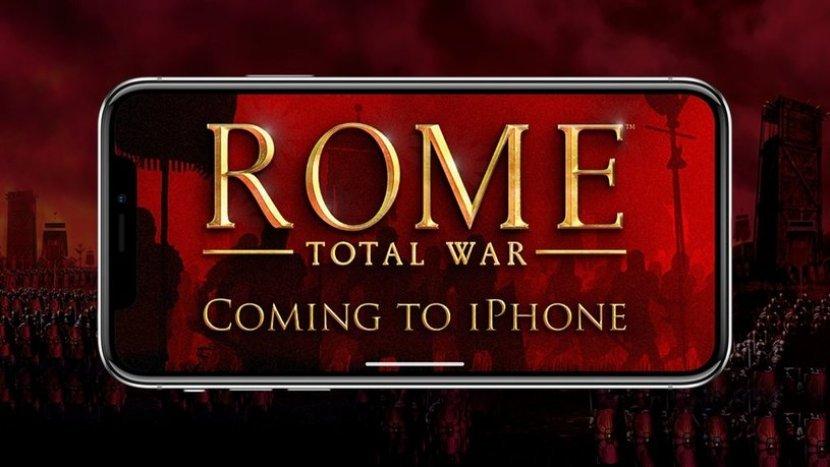 На iPhone этим летом выйдет мобильная Rome: Total War