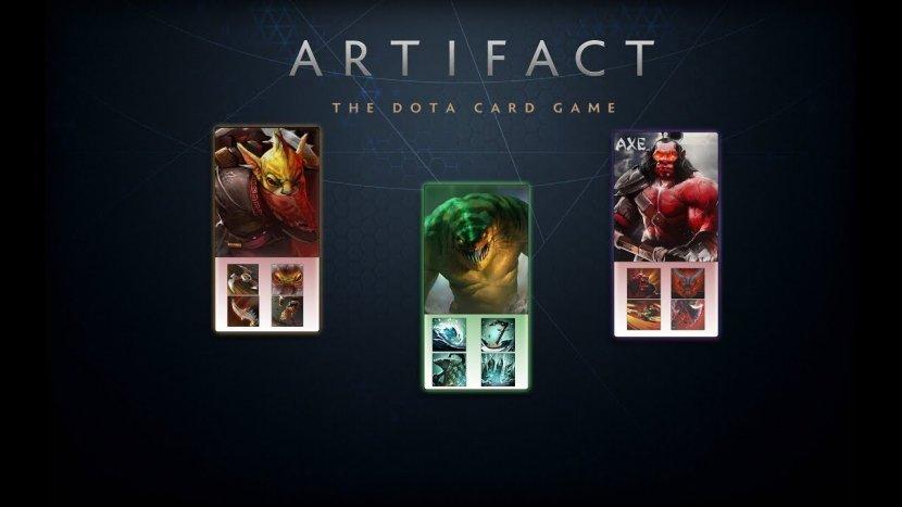 Первый взгляд на игровой процесс Artifact