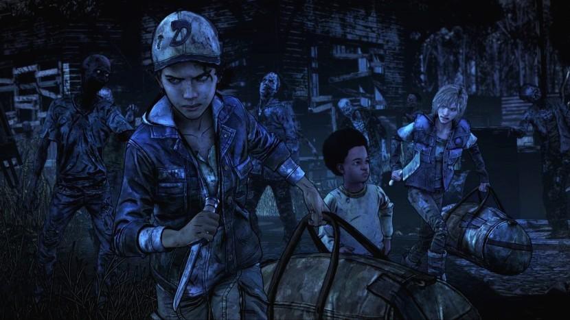 Наконец началась работа над The Walking Dead: Final Season