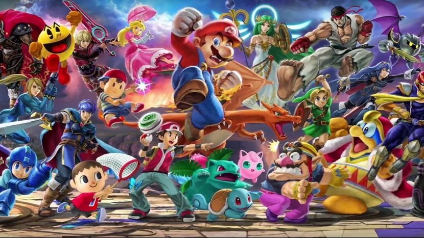 В сеть попала взломанная Super Smash Bros. Ultimate