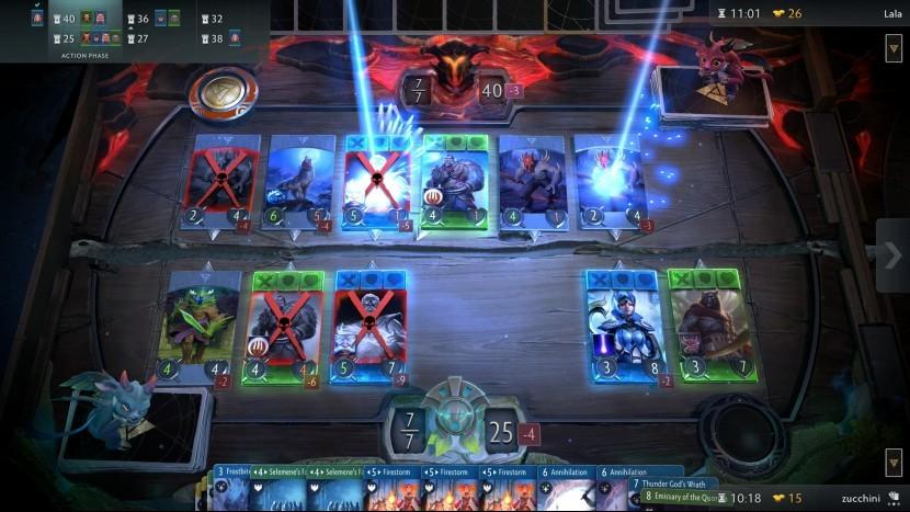 Самые желанные карты в Artifact стоят дороже самой игры