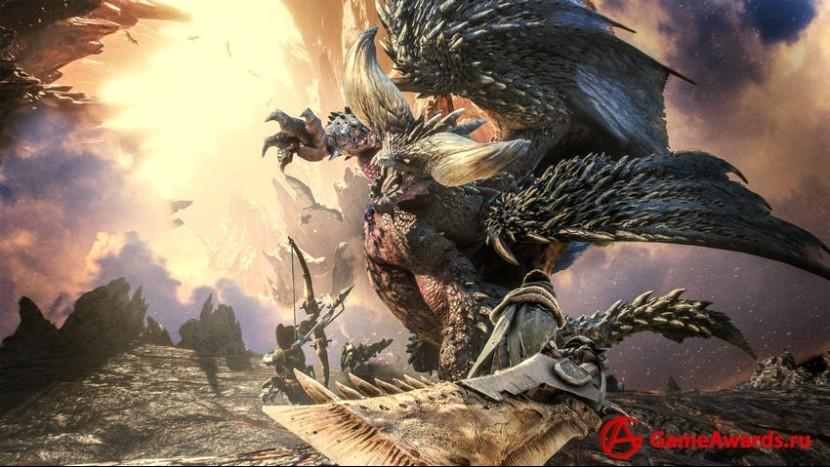 В дополнении к Monster Hunter: World появится необычный гость