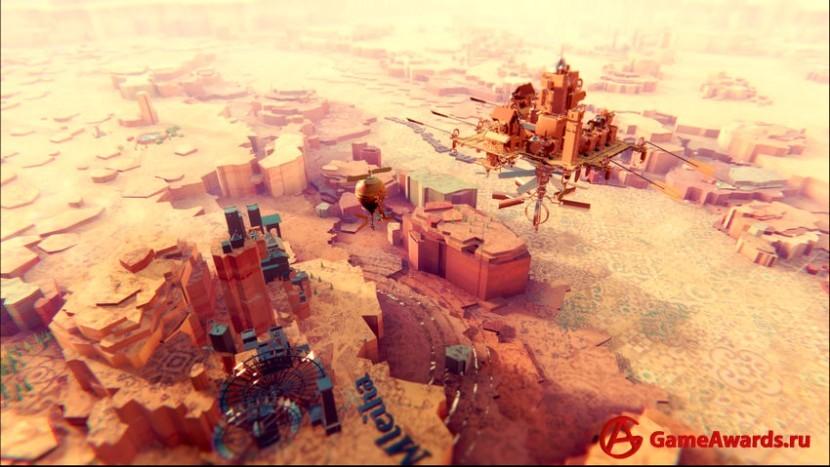 Постройте парящий город в Airborne Kingdom