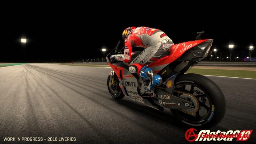 Внедрение обучаемого ИИ в гоночный симулятор MotoGP 19
