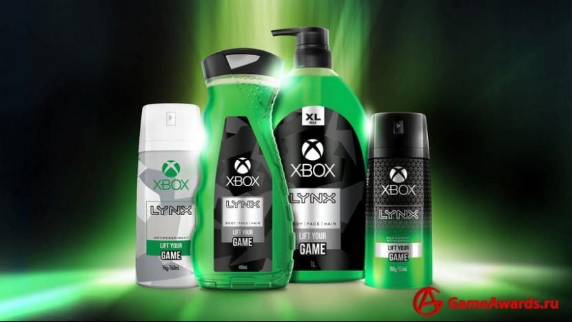 Дезодорант Xbox, спрей для тела и гель для душа