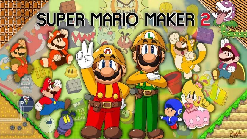 E3 2019: Mario Maker 2 позволит вам играть онлайн с друзьями