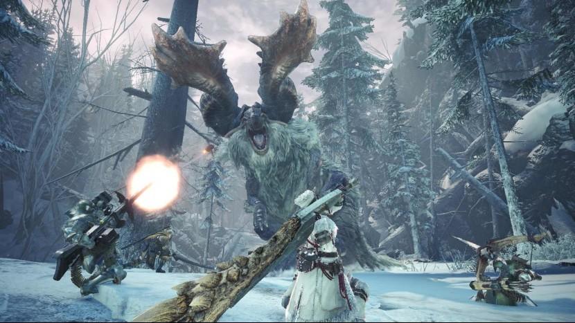 Мир Monster Hunter World: Iceborne пополнится более смертоносным монстром