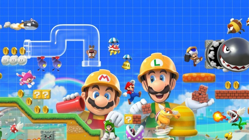 Nintendo увеличили количество уровней Mario Maker 2 до 64