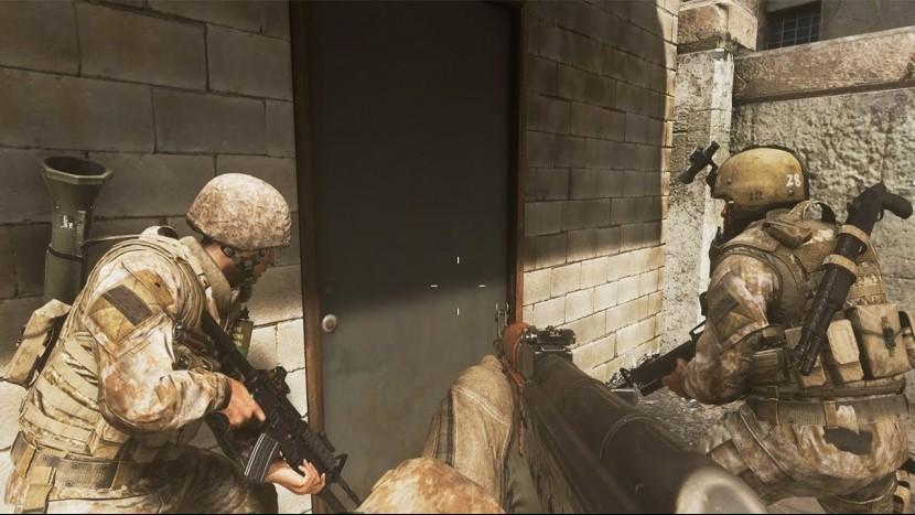 В Call of Duty: Modern Warfare можно будет использовать двери