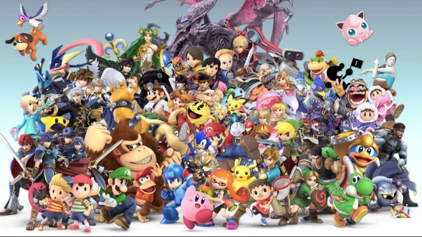 Завершился первый турнир Smash Bros. Ultimate
