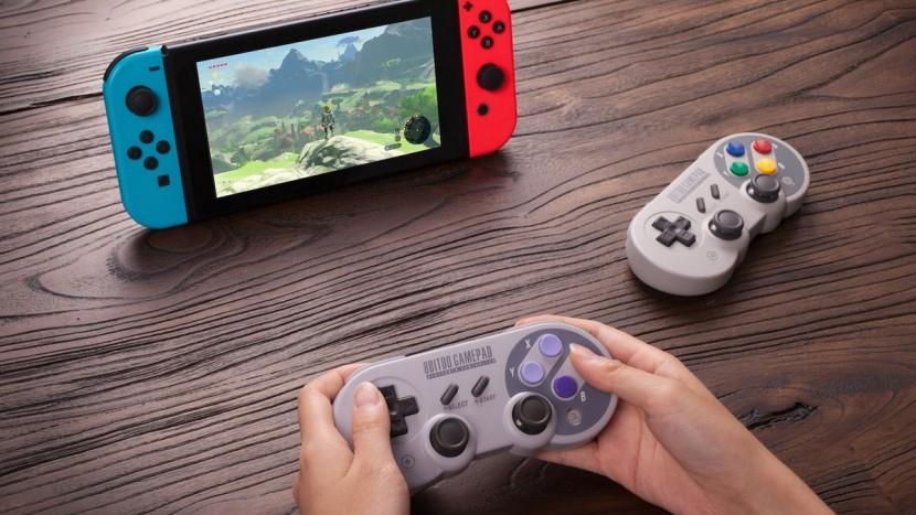 Новая заявка FCC выявила предстоящий беспроводной контроллер SNES для Nintendo Switch