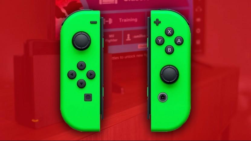 Новые зеленые Joy-Cons для Nintendo Switch доступны для предварительного заказа