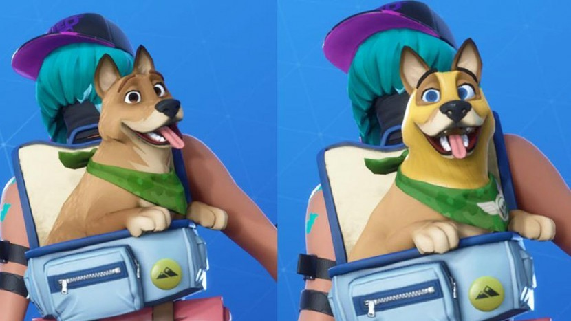 В Fortnite появился пёс из 6-го сезона с незначительными изменениями